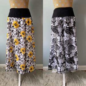 Set of Two Maxi Skirts